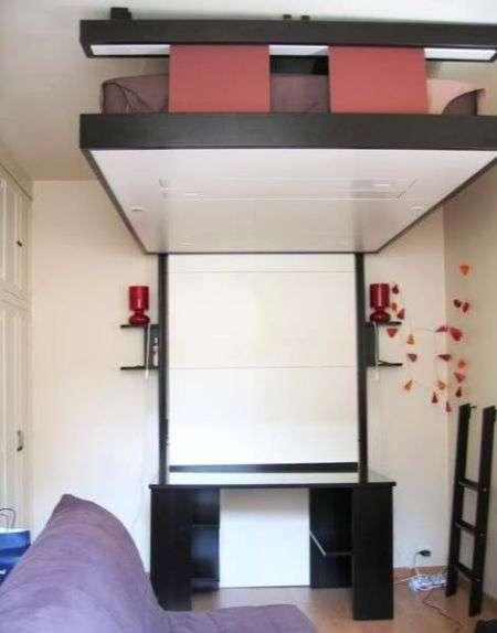 Креативний дизайн інтерєру для малої житлової площі (49 фото)