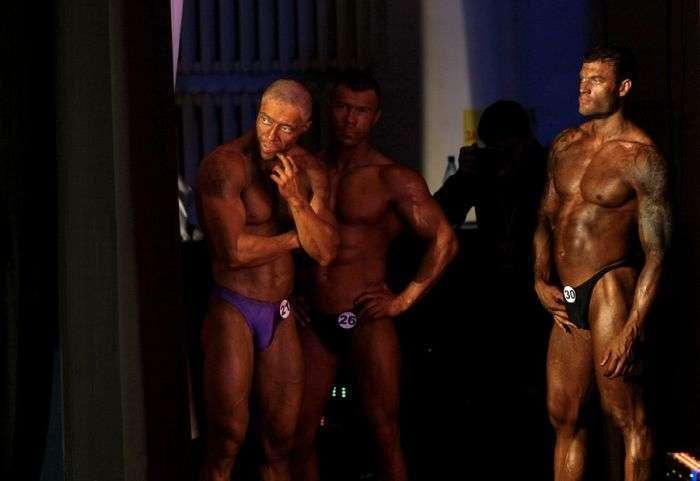 Чемпіонат Сибіру з бодібілдингу (16 фото)
