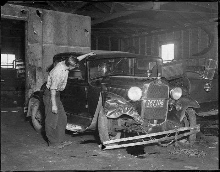 Ретро-аварії минулого століття. Частина 2 (37 фото)