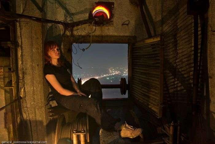 Київ на світанку з висоти 135 метрів (17 фото)