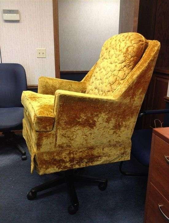 Офісне крісло своїми руками (3 фото)