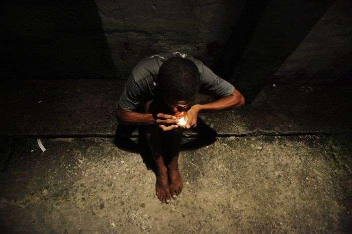 Наркомани Бразилії (24 фото)