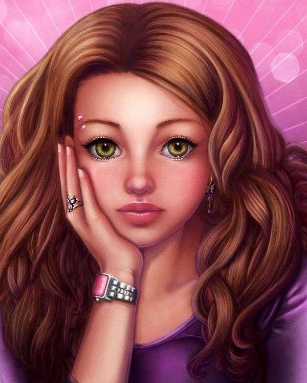 Намальовані дівчата зі світу фентезі (45 картинок)