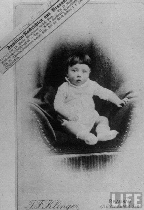 Рідкісні фотографії Гітлера (61 фото)