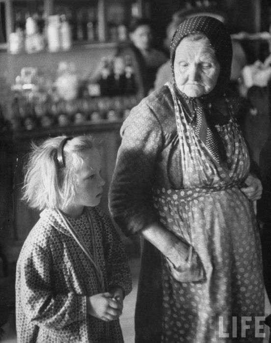 Повсякденне життя москвичок (52 фото)