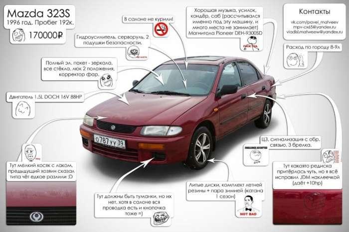 Як продати автомобіль (2 фото)