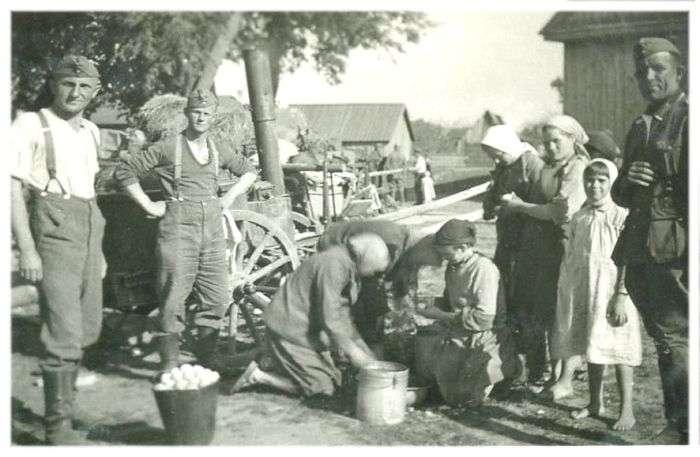Окупація, фотографії німецької сторони (45 фото)