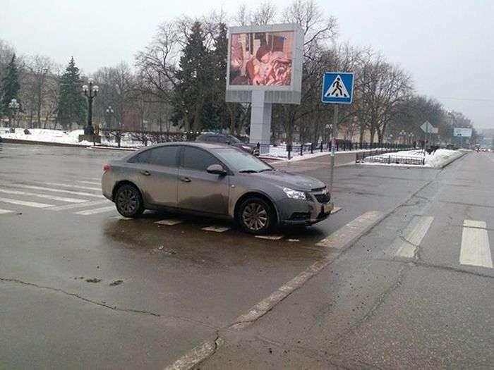 Майстерність паркування (2 фото)