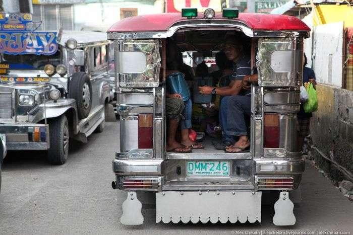 Маршрутки на Філіппінах (50 фото)