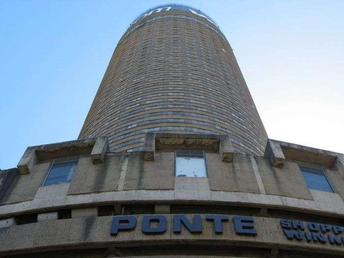 Понте Сіті - житловий будинок в Африці (15 фото)