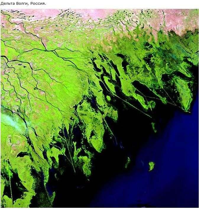 Річки. Вид з космосу (19 фото)