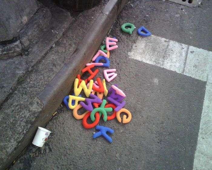 Речі на вулицях міста (70 фото)