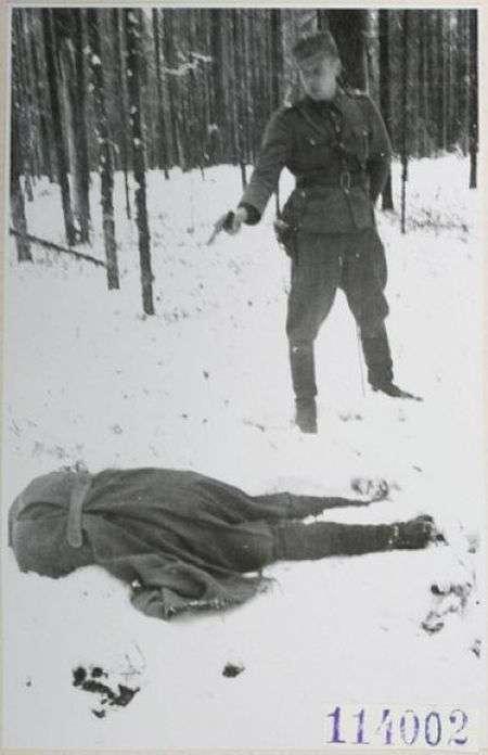 Радянський розвідник дивиться в обличчя смерті (3 фото)