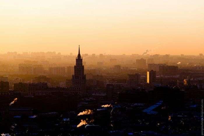 Світанок над Москвою (30 фото)