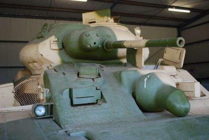 Австралійський танк (3 фото)