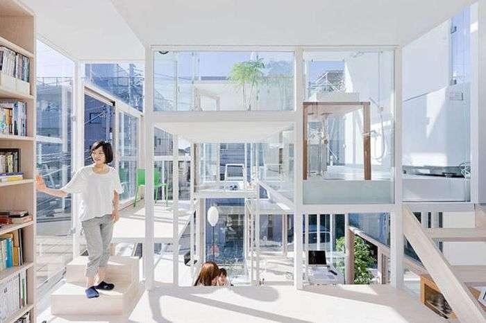 Прозорий будинок (13 фото)