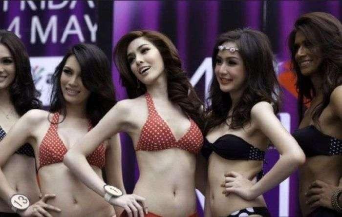Конкурс краси серед транссексуалів (17 фото)