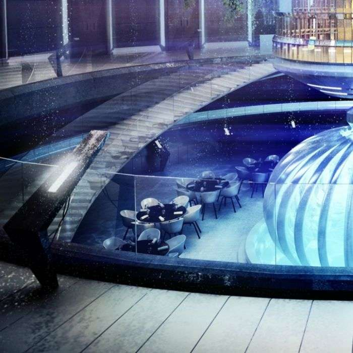Підводний готель в Дубаї (12 фото)
