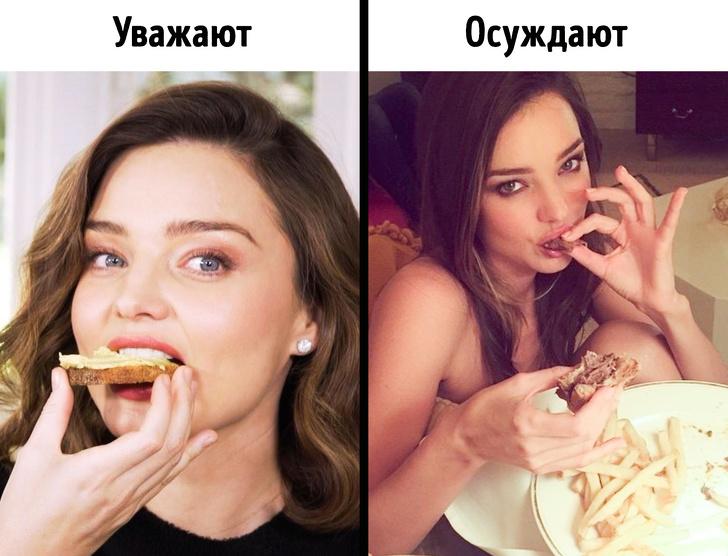 Как общество заставляет нас стыдиться того, что мы едим и как выглядим Интересное
