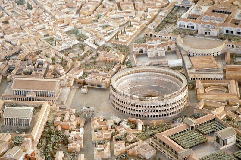 Археолог восстановил древний Рим Интересное