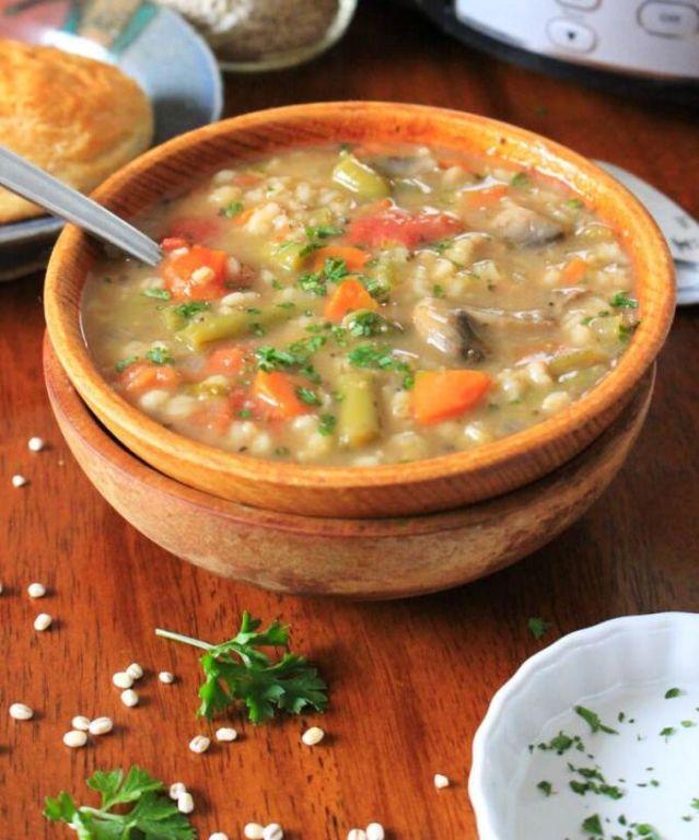 Суп харчо с перловкой Кулинария