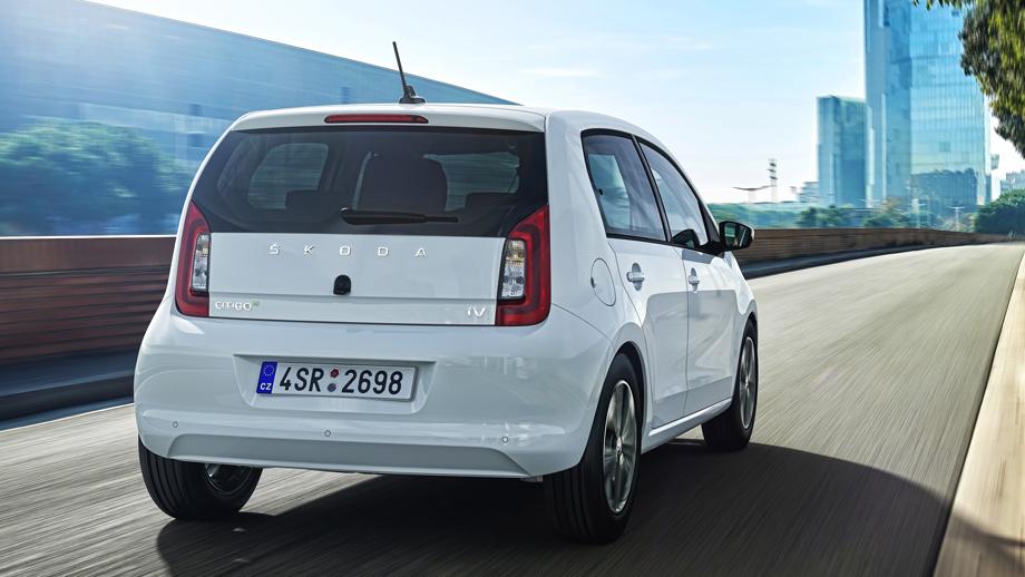Хэтч Skoda Citigoe iV явился электрическим первенцем Авто и мото