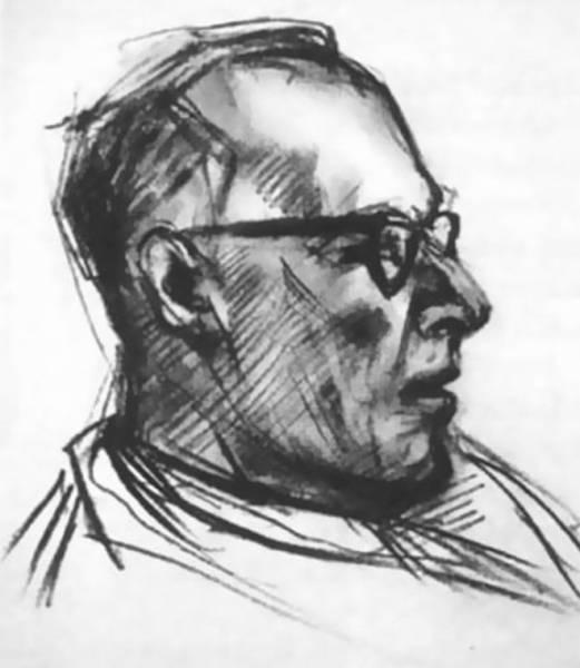 Американский эксперимент: художник, принявший ЛСД, нарисовал 9 портретов Интересное
