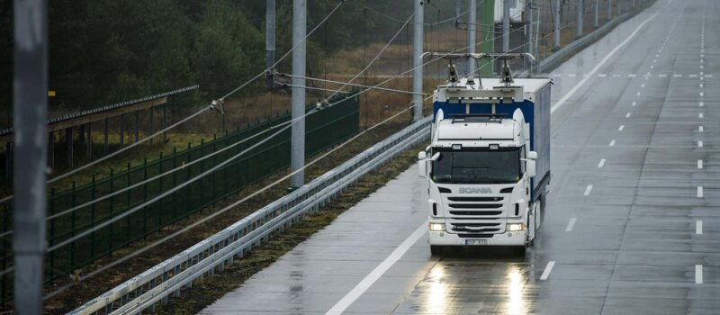 В Германии открылся первый электрический автобан   Интересное