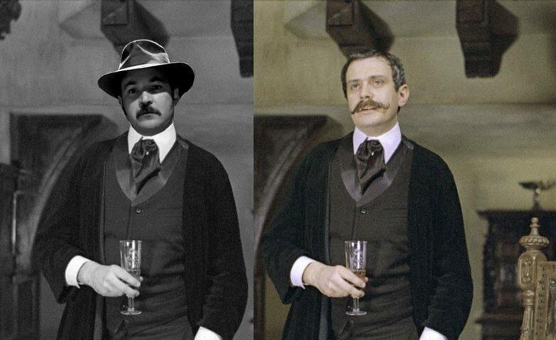 Сцена, вырезанная из «Приключений Шерлока Холмса и доктора Ватсона» Интересное