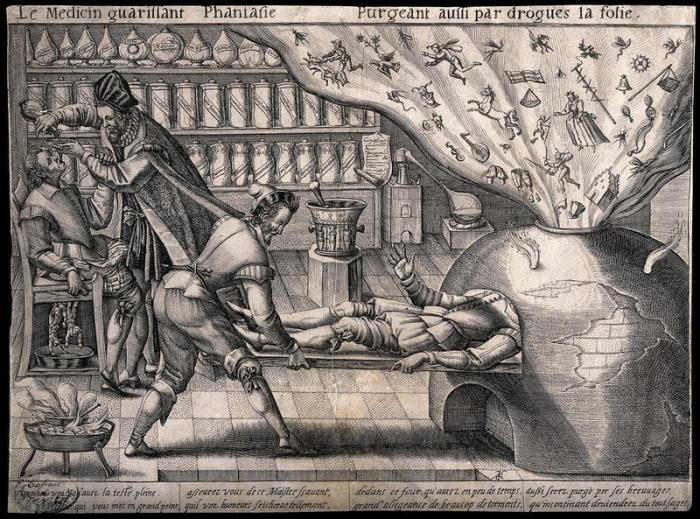 Лечение навозом, голубями и вареными крабами: Опубликованы записи английских врачей 17 века Интересное