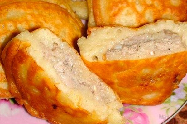 Ленивые беляши: без волокиты, без замеса и грязной посуды! рецепты
