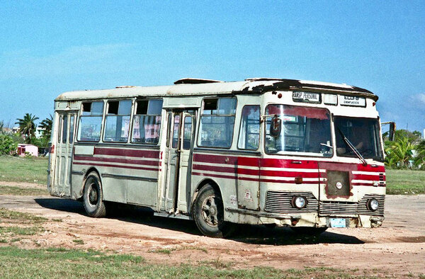 Какие советские автобусы можно встретить сейчас на Кубе? АВТОМОБИЛИ СССР