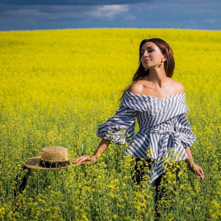 Красавицы российской эстрады и кино: Zara фотография