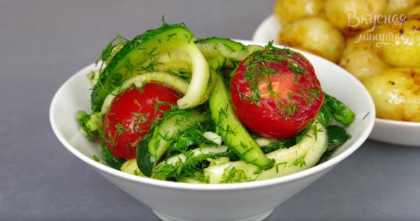 Малосольный салат за 12 часов . Все лето такой готовлю закуски,кулинария,салаты
