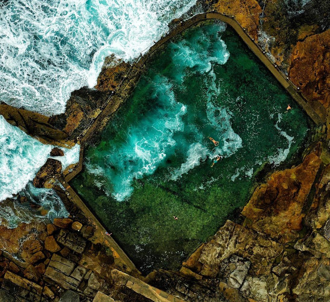 10 абсолютно неземных видов земли сверху интересное,природа,путешествия,фотография