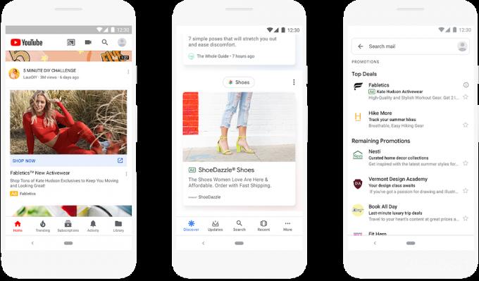 Google увеличит количество рекламы в мобильных устройствах google,гаджеты,мир,реклама,технологии